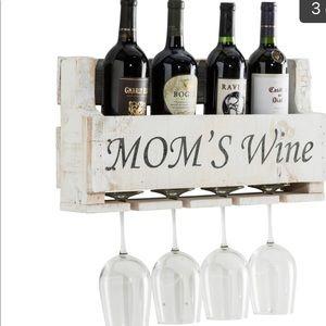 Del Hutson Mom's Wine Rack